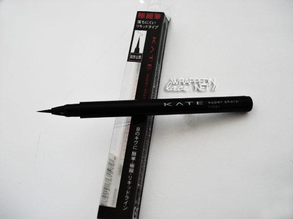 Kanebo KATE Super Sharp Liner Review