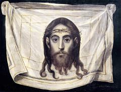 El Greco (1580), Cristo en el lienzo de la Verónica