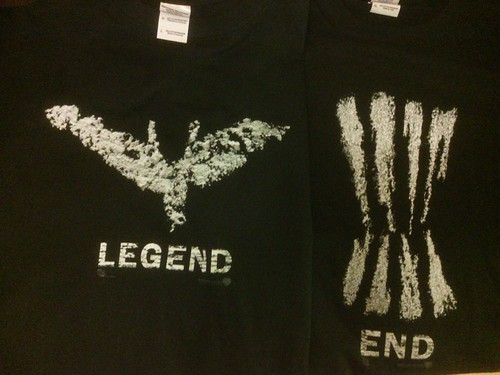 The Dark Knight Rises Prologue free t-shirts