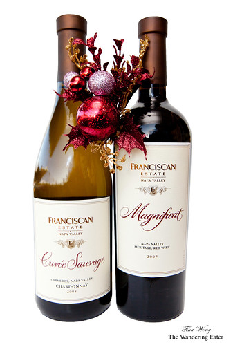 Franciscan Chardonnay Cuvee Sauvage 2008 & Magnificat 2007