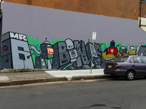 Street art in Enmore