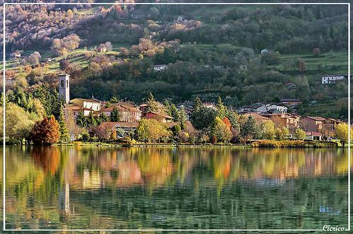 Lago di Endine - Monasterolo del Castello by cicrico