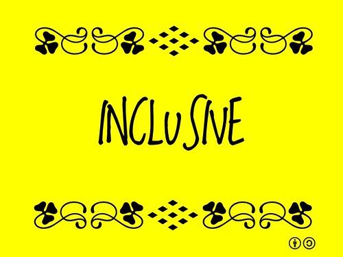 Buzzword Bingo: Inclusive = Including all people (2011)