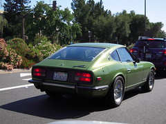 aston martin v8(0.0), tvr(0.0), supercar(0.0), race car(1.0), automobile(1.0), datsun/nissan z-car(1.0), vehicle(1.0), performance car(1.0), first generation nissan z-car (s30)(1.0), land vehicle(1.0), coupã©(1.0), sports car(1.0),