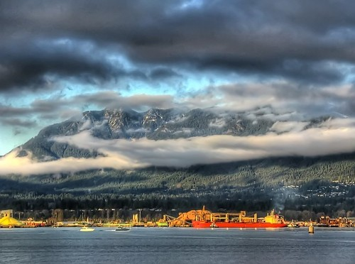 North Shore Mountains, Vancouver