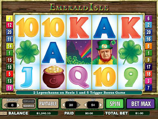 Emerald Isle slot game online review