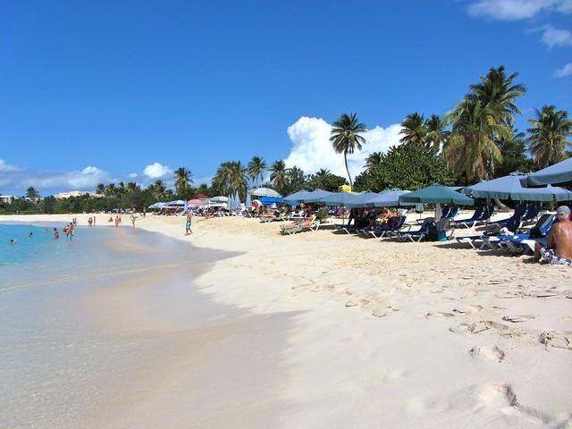 Mullet Bay Beach St Maarten