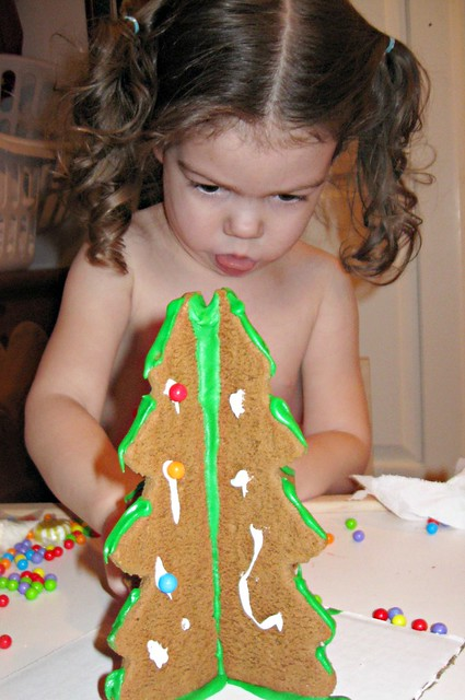 Ash Decorating Gingerbread