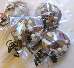 chocolate lollies