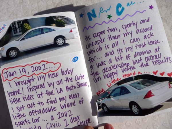 New Car Journal Entry!