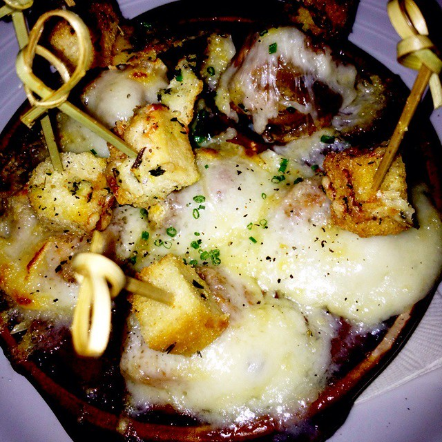 French Onion Soup Dumplings @ Stanton Social | Wonderful sig ...