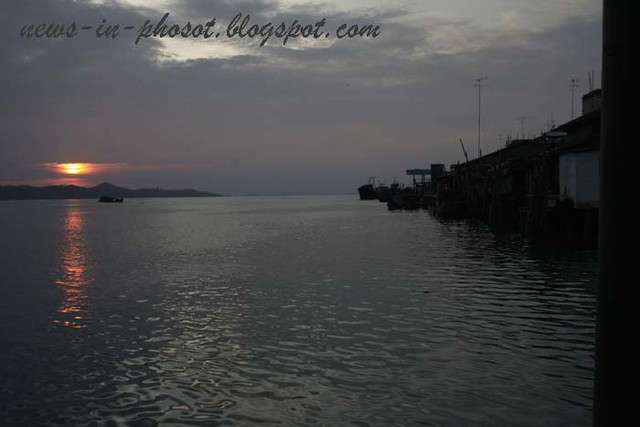 sunset in karimun water part 3