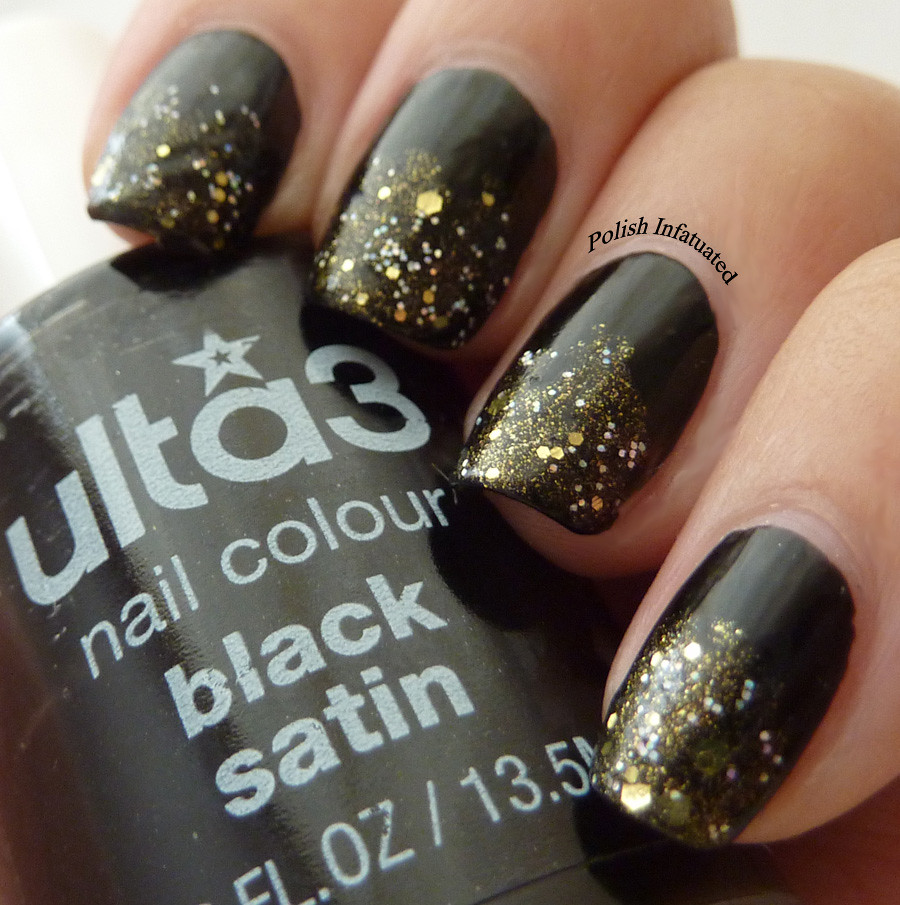 black with gold tips1