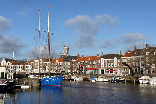 Bezienswaardigheden Middelburg nr 10 Haven van Middelburg