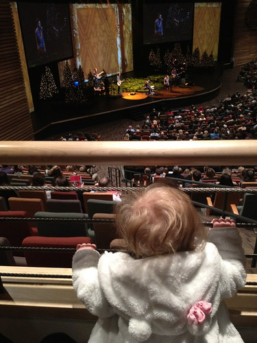 Finn at Christmas Eve service