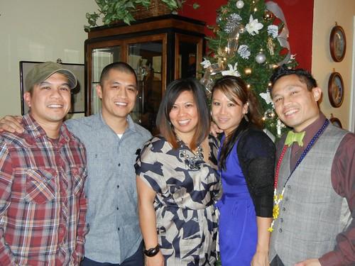 The cousins at Xmas 2011