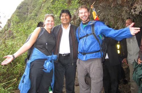 Hike Waynapicchu with Bolivian President