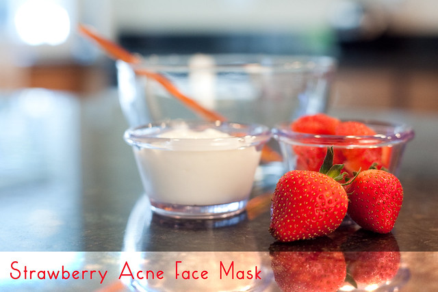Strawberry Acne Face Mask