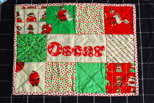 Craft: Placemat Oscar