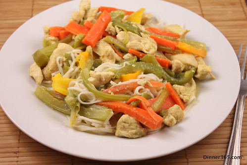 Day 361 - Green Curry Chicken Noodles
