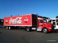 Coca-Cola truck in Mountain View California