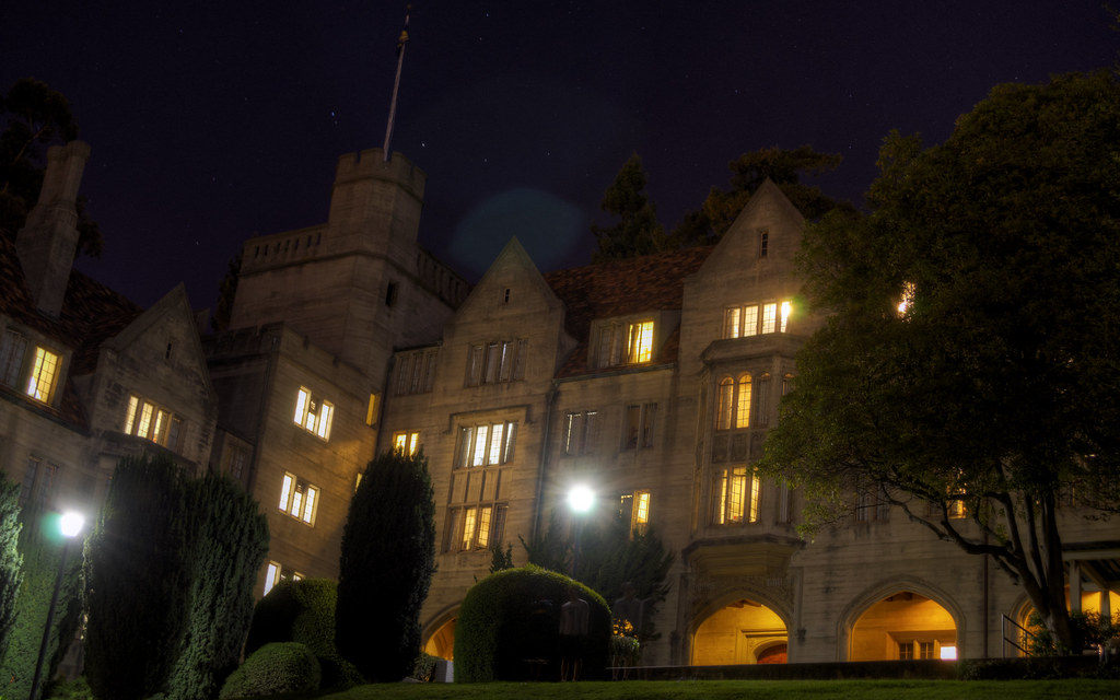 Bowles hall a k a california hogwarts decaseconds for 12 terrace hall ave burlington ma