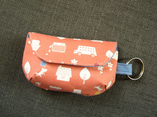 Keychain Clutch closed
