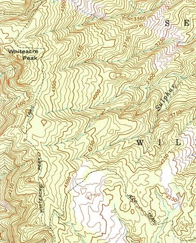 Whiteacre Peak Trail, 1958