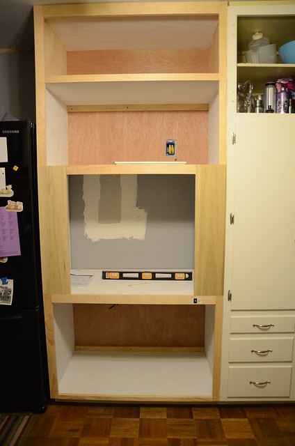 ... Oven Cabinet Plans Woodworking DIY Project – Free Woodworking Plans