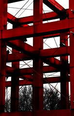 Red Cage - Parc De La Villette, Paris