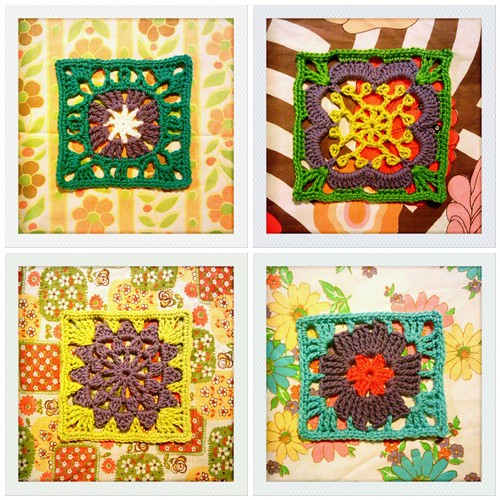 329-332::254 purple flower squares