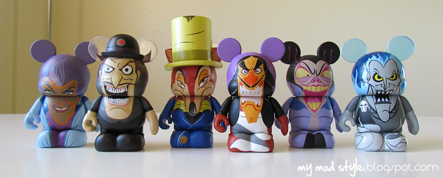 Vinylmations Villians2 for Xmas
