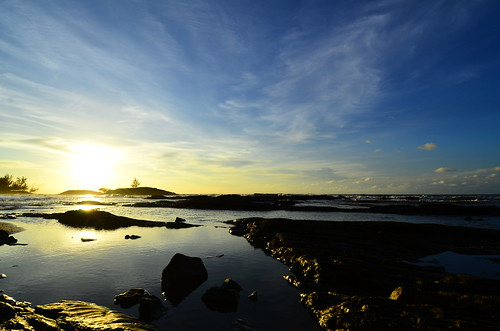 blue light sunset sky beach nature water sunshine golden sarawak malaysia borneo bintulu sarawakborneo