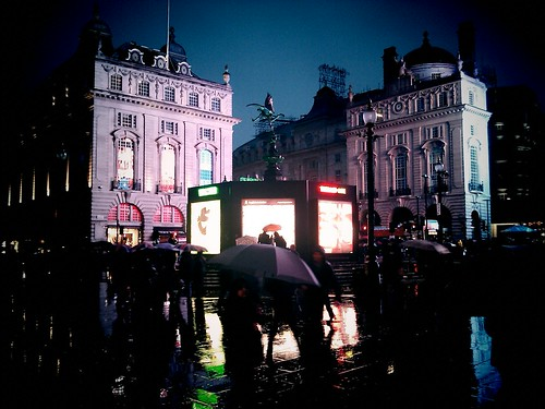 Picadilly Circus lights