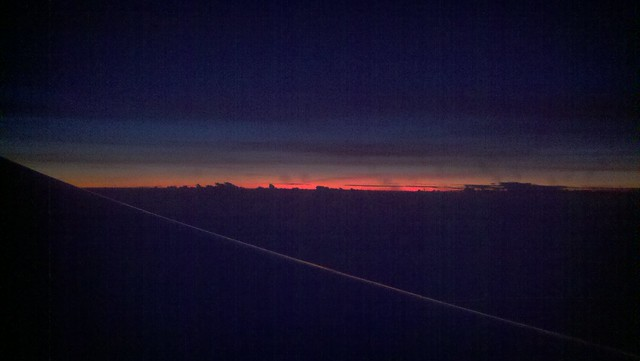 Sunrise over Indian Ocean off Tanzania