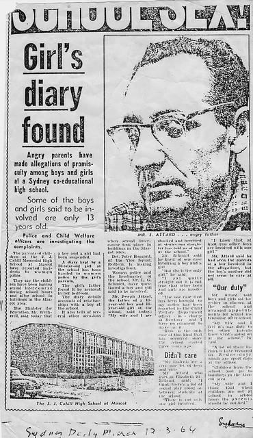 Sydney Daily Mirror 12/3/1964