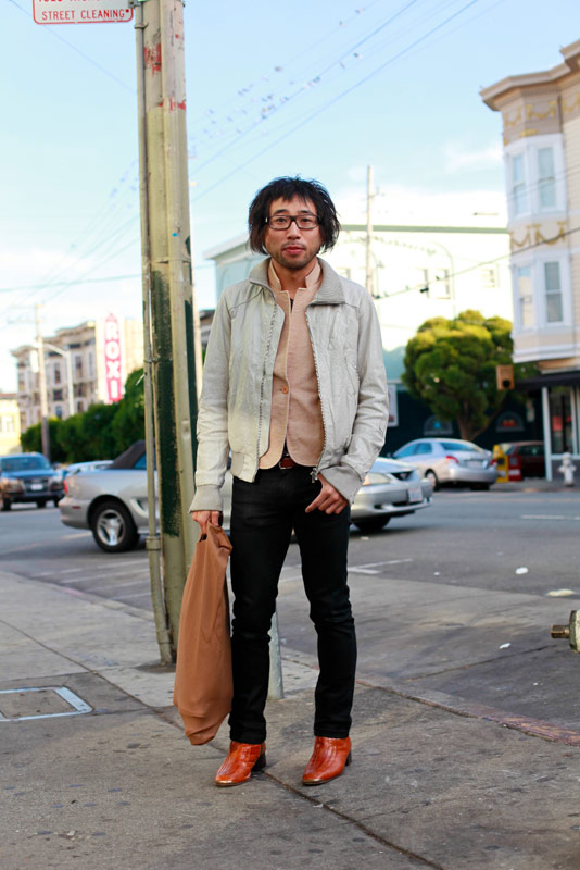 yujin san francisco street fashion style