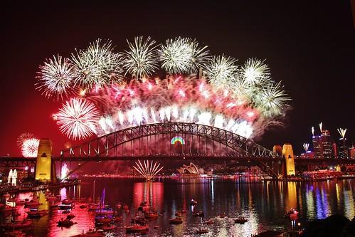 Sydney NYE 2011 Fireworks