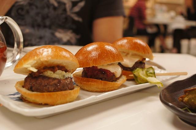 Kobe Beef Sliders