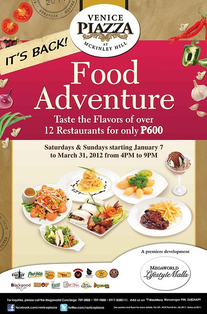 Food Adventure at Venice Piazza