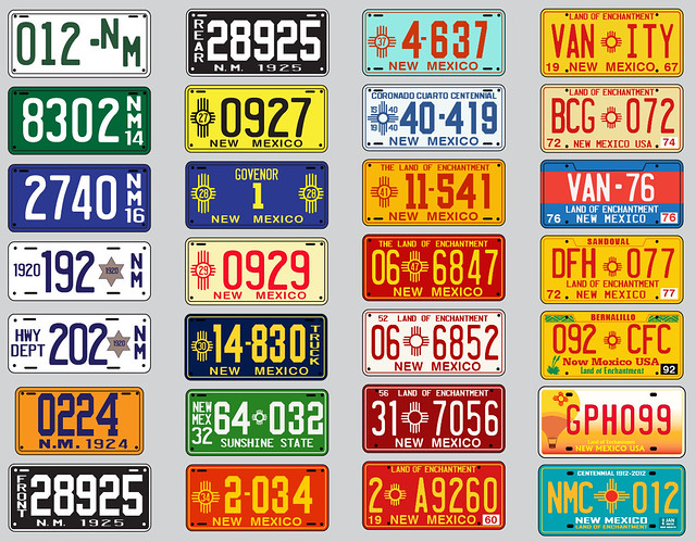 Mexican Car Plates For Sale