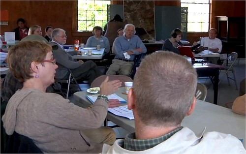 citizen workshop in action (by: Friends of Midcoast Maine, video the Citizen as Expert)
