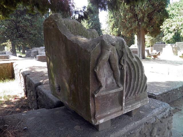 Porta Romana necropolis, Ostia Antica, Italy