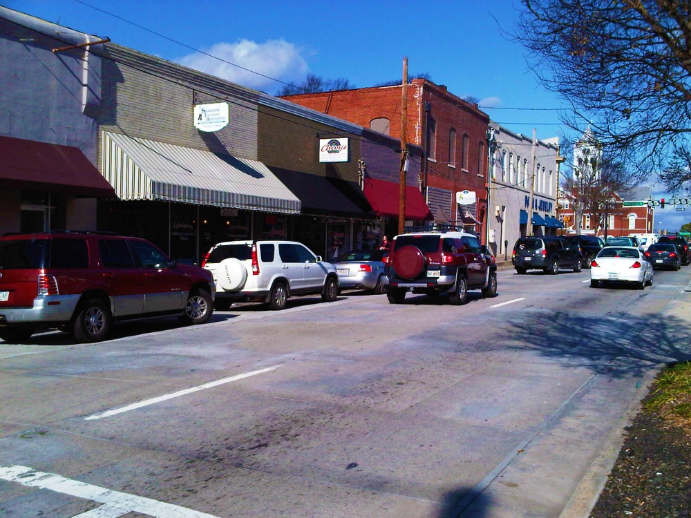 Macon Street Looking North McDonough, Ga