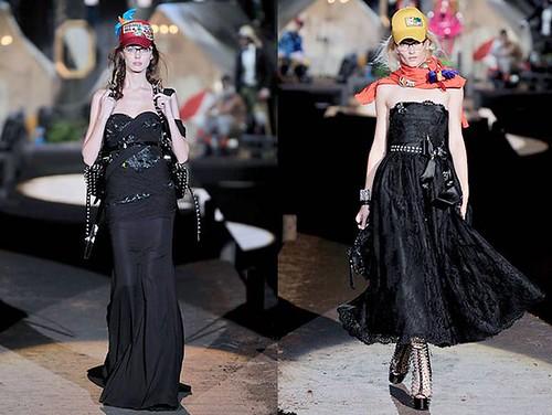 Dsquared2-vestidos-largos-negros