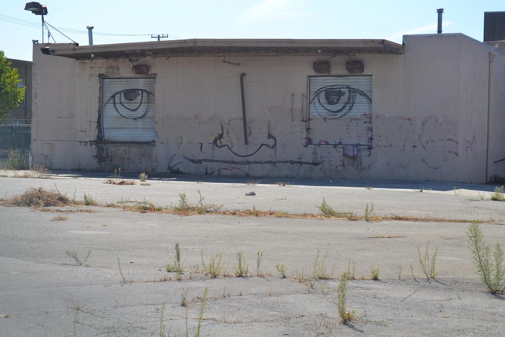 FACE, Street Art, Graffiti, East Bay