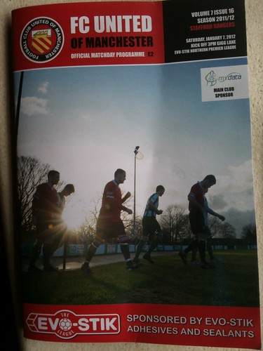 FC United programme