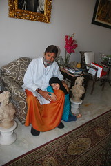 Mr Rajesh Khanna and Street Photographer Marziya Shakir 4 Year Old by firoze shakir photographerno1