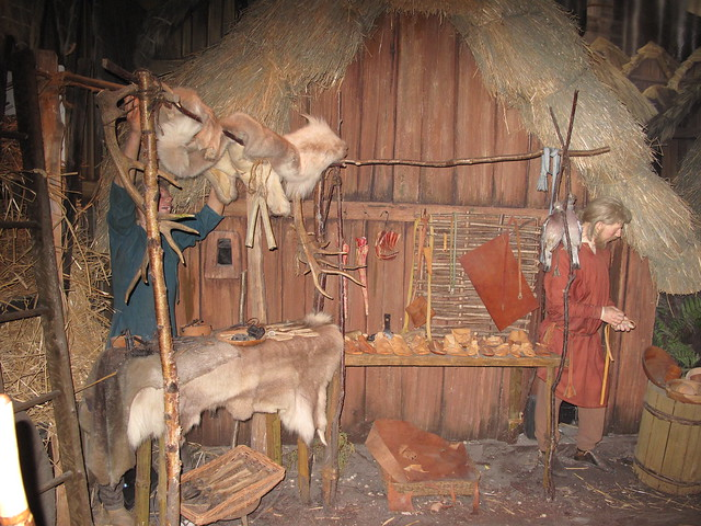 YORK - Jorvik Viking Centre: The Hunters Preparing the Meat | Flickr ...