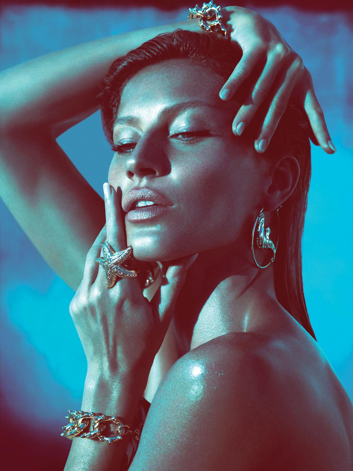 Gisele Bündchen by Mert & Marcus (Versace Spring-Summer 2012)